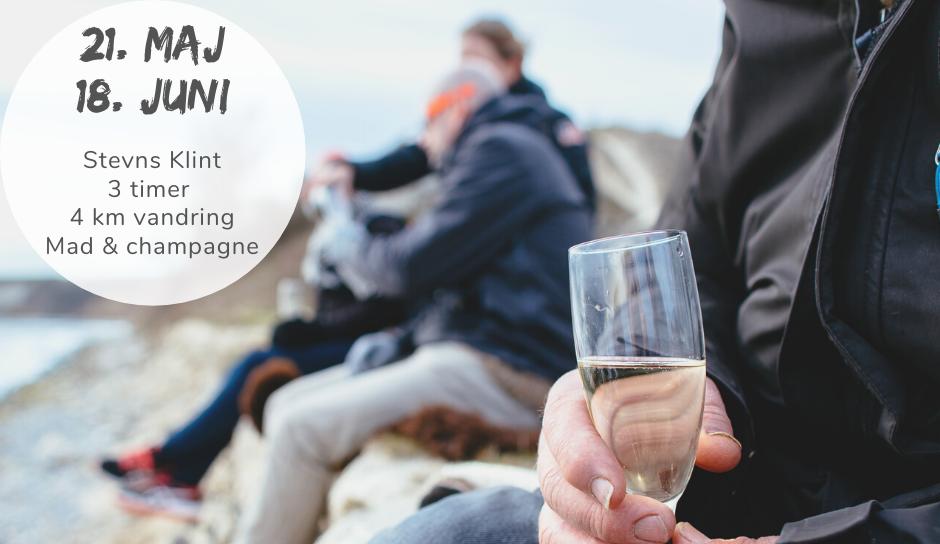 Champagnevandring med mindfulness