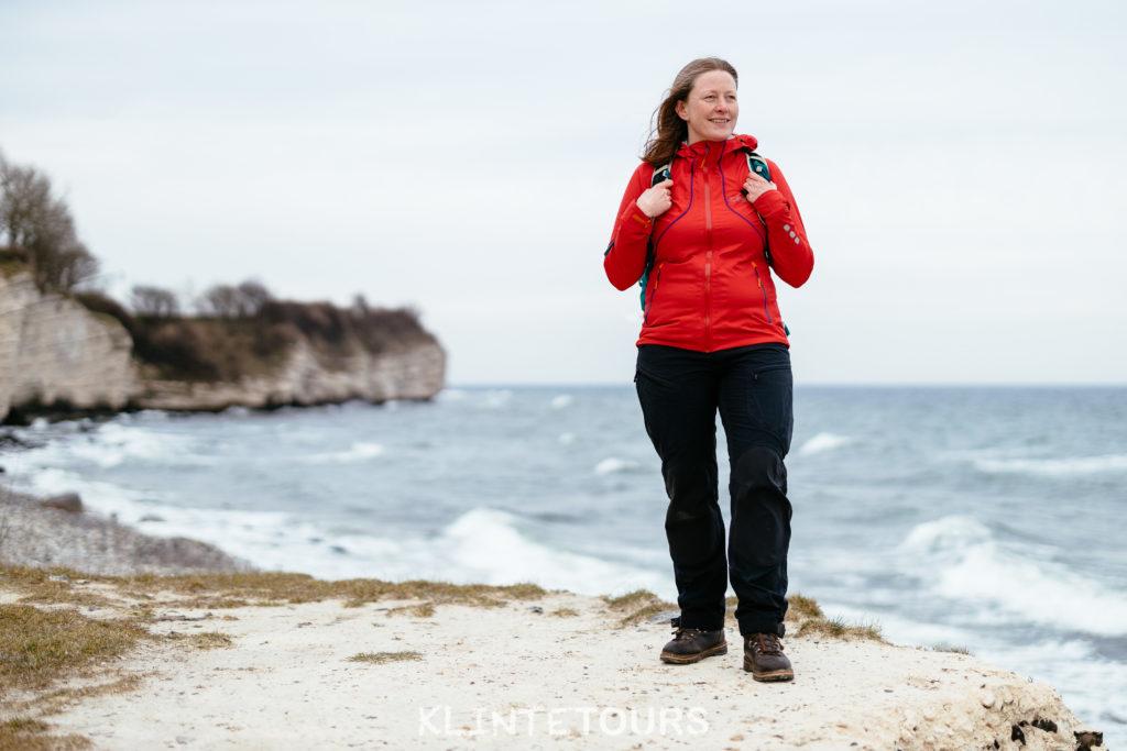 Billede af Anne, som er lokal guide Stevns Klint