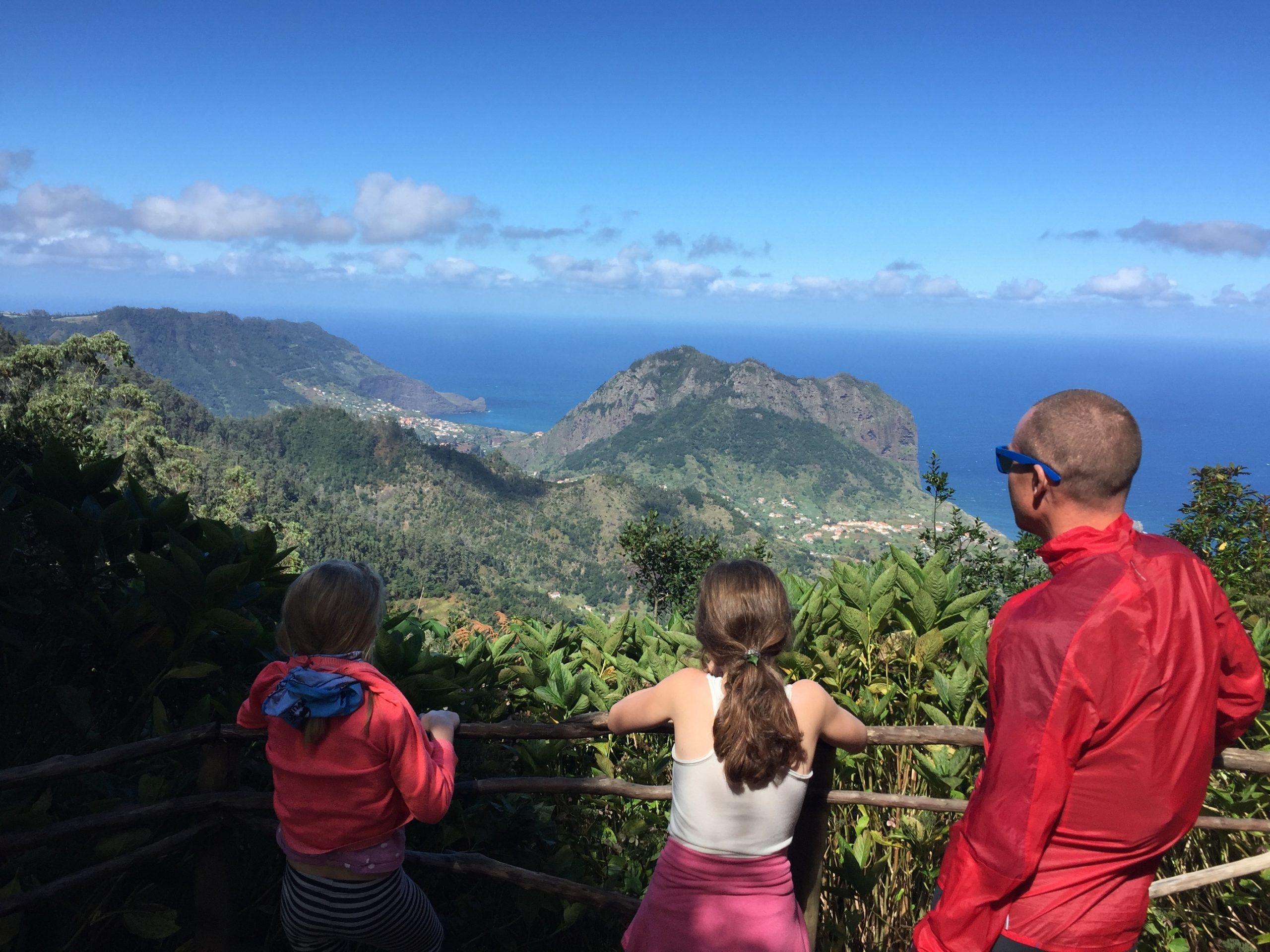 Vandring på Madeira med børn
